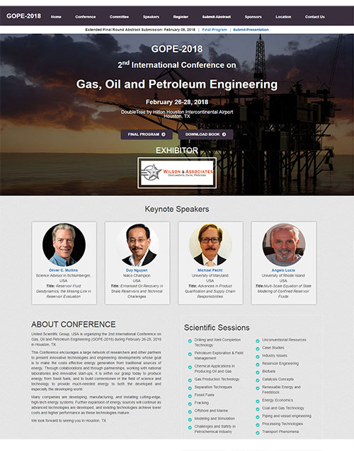 3rd International Conference on Gas, Oil and Petroleum Engineering